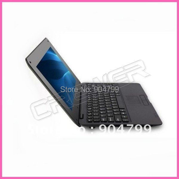 Cheap laptop 10 VIA8650 Android 2 2 4G 256MB 10 WiFi mini computer laptop Netbook free