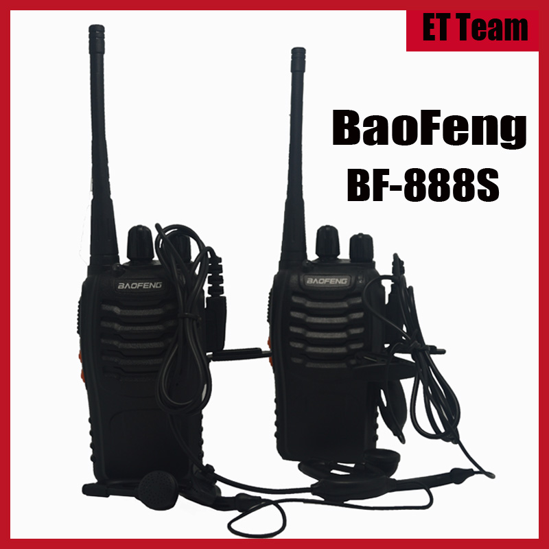 2 pcs/set 2016 new Cheap Walkie Talkie 888s Baofeng BF-888s 5W 16CH UHF 400-470MHz BF 888S Interphone BaoFeng 888S Two-Way Radio(China (Mainland))