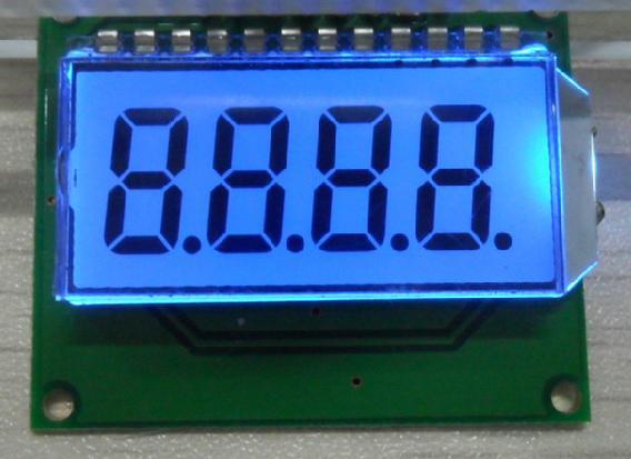 Sma410364- простой в подключении и надежный семисегментный индикатор на четыре цифры с общим анодом для использования
