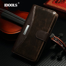 IDOOLS &Note2 Fashion Luxury Classic Flip Case for Samsung Galaxy Note 2 N7100 with metal Cover Wallet Stand with Card Holder(China (Mainland))