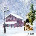 New arrival professional 5ft x 7ft best Photography backdrop Z 0173 Studio photography backdrops Snow Christmas