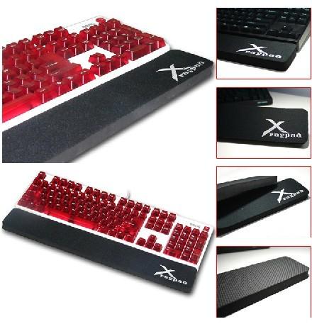Hand mechanical x-raypad laptop keyboard wrist support pad wrist rest(China (Mainland))