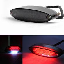 Cafe Racer 28 LED Motorcycle Quad ATV Brake Running License Plate Tail Light 12V(China (Mainland))