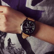 Que restaura maneras antiguas reloj Neutral en europa américa del hombre de estudiantes universitarias reloj grande del dial escuadrones de la muerte relojes militares