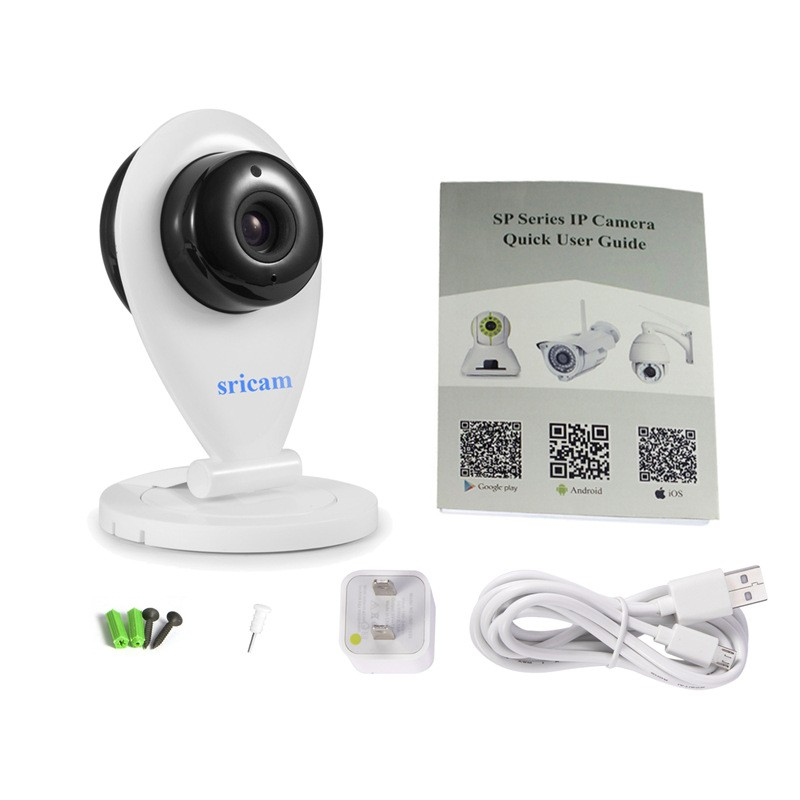 Sricam SP009 Wireless HD 720P IP Camera with IR-CUT CCTV Security ONVIF IP Camera P2P for Mobile Preview Support IOS/Android