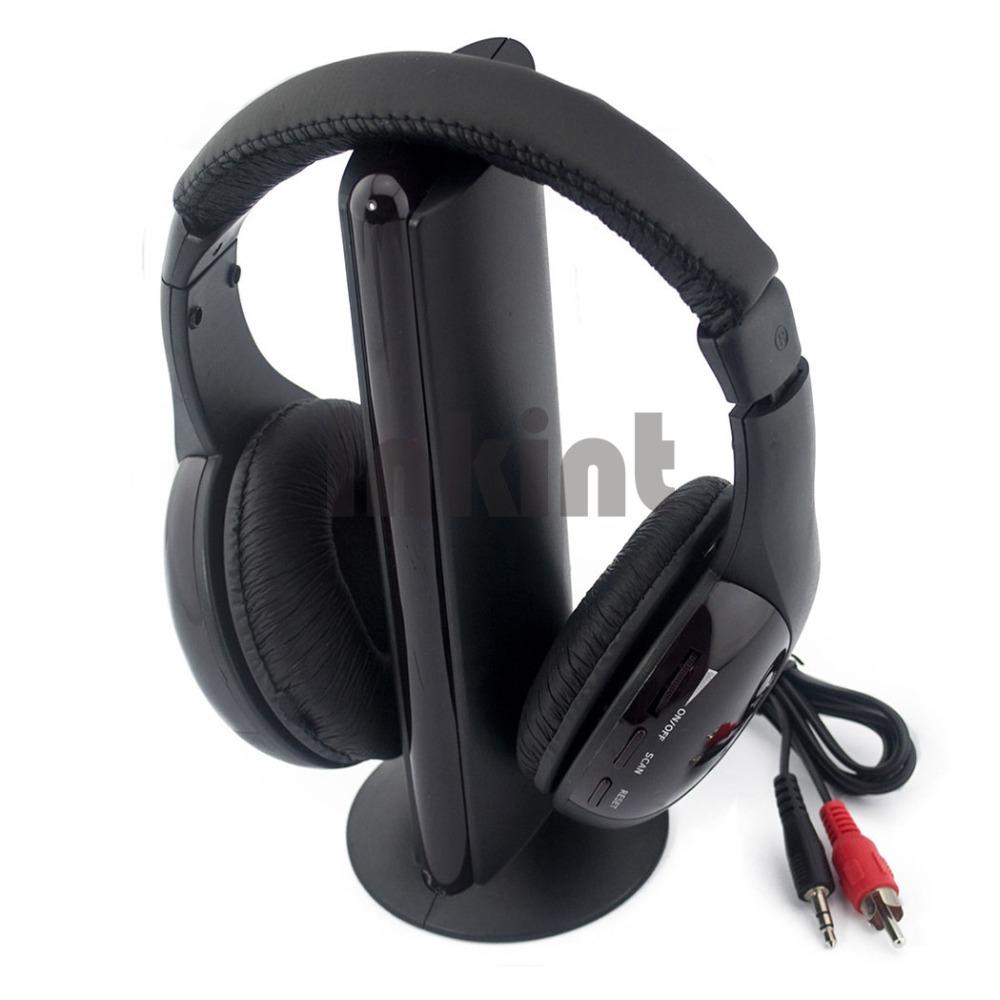 New Sports Wireless headset WiFi Earphone Headphone for FM Radio MP3 PC TV DVD Audio Noise Isolating TV Earphones & Headphones(China (Mainland))