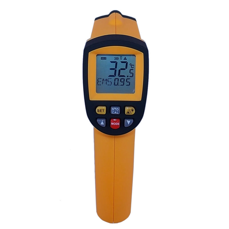 Non-Contact IR Laser Infrared Thermometer GM700 -50-700 Degree 12 : 1 temperature Tester Gun point(China (Mainland))