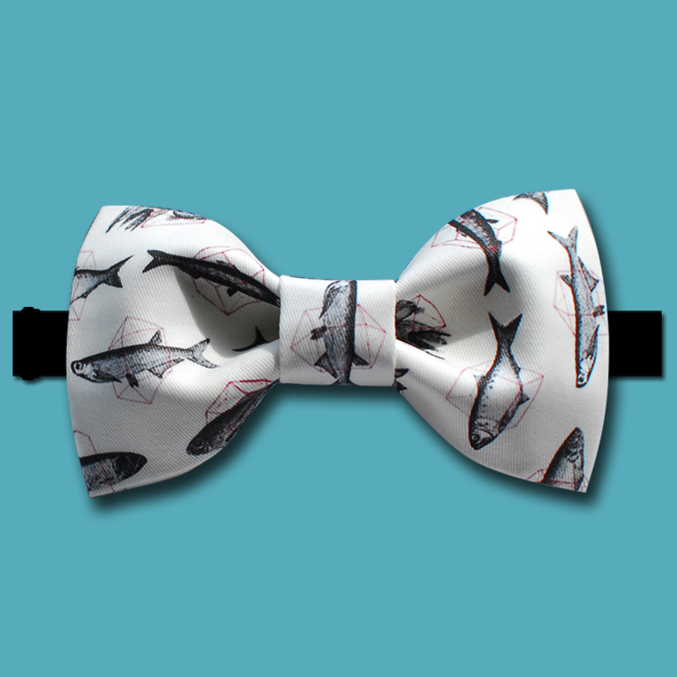 Popular fish bow ties buy cheap fish bow ties lots from for Fish bow tie