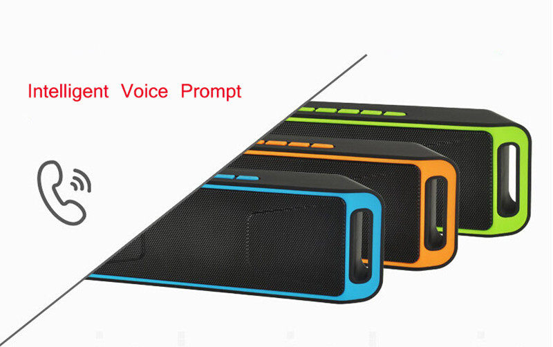 Portable Wireless Speaker Bluetooth 4.0 Caixa De Som Stereo Subwoofer Speakers TF USB FM Radio Built-in Mic Dual Bass Sound Box