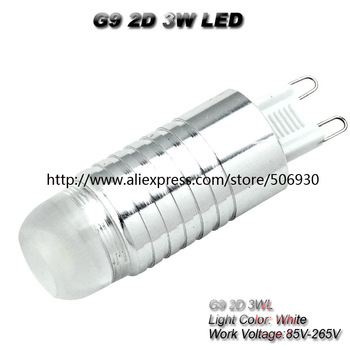 G9 LED 3W  AC85-265V LED G9  high pressure lamp mini 3 LEDs lamps bright warm white cold white