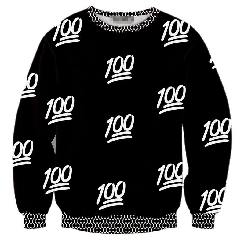 2015 Women/Men T-shirt Autumn/Winter Tops 100 Digital Printing Black S-XL Hoodie Plus Size Sweatershirt Drop Shipping Sye-829(China (Mainland))