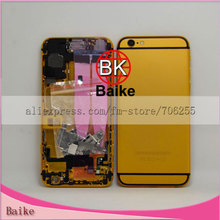 Replacement Battery Back Housing with Flex Cable Full Assembly for Apple Iphone 6 for Iphone6 Gold