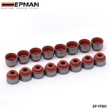 Epman Viton Valve Stem Seal Kit FOR HONDA ACURA B/D/F/K VTEC ENGINE EP-YF001