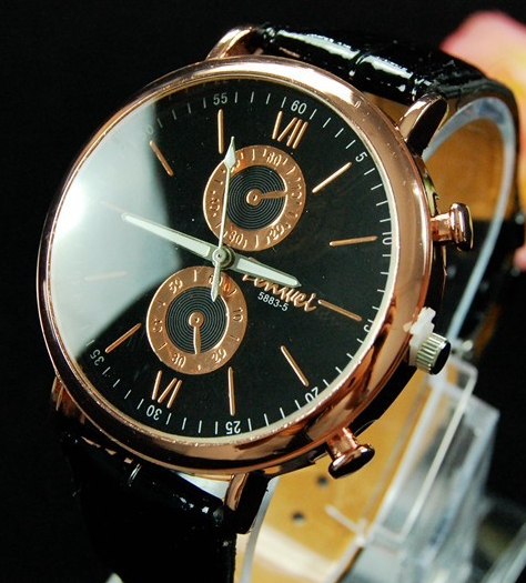 2015 Cheap Quartz Watches Men Fashion & Casual Luxury Leather Watch Elegant Sports Out Door Wristwatch Hour relogio masculino(China (Mainland))