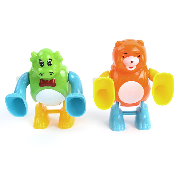 Promation Lovely Children Wind Up Toys Plastic Cartoon Design Tumbling Somersault Toys(China (Mainland))