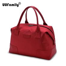 UU Family 2016 Oxford & Jacquard Travel Bag Weekend Bag Large Capacity Overnight Bag Men Waterproof Bag Women Duffel Travel Tote(China (Mainland))