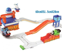 Thomas Big Loader Thomas and Friends Orbit Train Electric Train and Track Set Toys(China (Mainland))