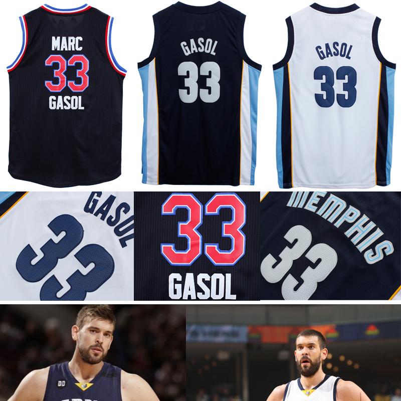 Гаджет  Free Shipping Memphis 33# Marc Gasol Jersey Sport Throwback Jersey All Star Basketball Shirt Camiseta REV 30 Embroidery Grizzly None Спорт и развлечения