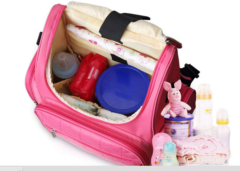 Mummy Backpack Diapers Bag Bottle Multifunctional Waterproof Separate Bag Nappy Maternity Handbag Baby Tote Diaper Organizer(China (Mainland))