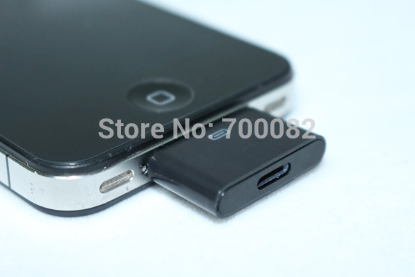 8 Pin Female to 30 Pin Male Charger Sync Data Adapter For Apple iPhone 4 4S 3G 3GS iPod ipad 300Pcs/Lot By DHL