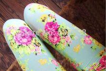 Free Shipping New Cuhk children baby Girls Colorful Floral printing milk Silk Leggings Pants Hot