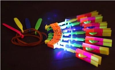 ZDG5 LED Illuminated Arrow Helicopter LED light toy gift kids christmas children's day Wholesale(China (Mainland))