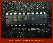 TIBPAL16R4-15CN QTY 4 IC HI-PERF IMPACT PAL CIRCUITS 20PDIP - Rail/Tube Promise New and Original store