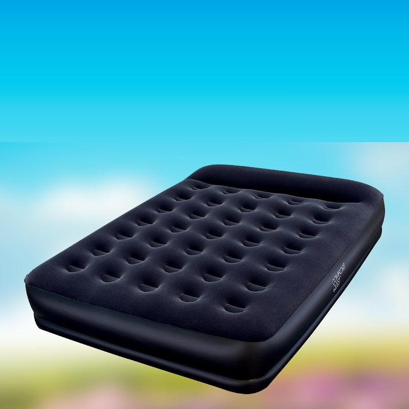 EC  Bestway Double Double heightened thickening flocking inflatable mattress inflatable air mattress  FREE SHIPPING<br>