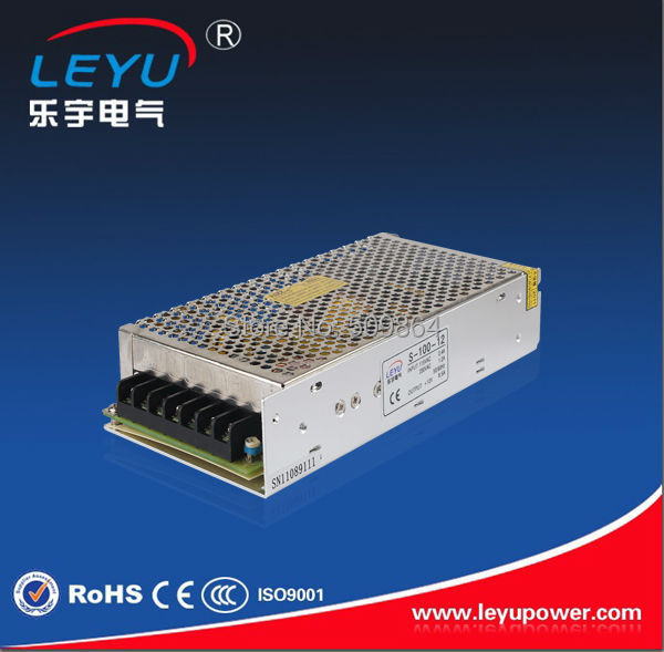 Competitive price 24V output voltage S-100-24 short circuit protection ac dc variable power supply(China (Mainland))