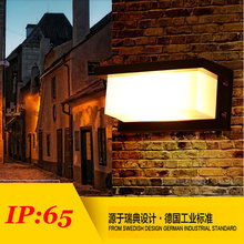 Five years warranty, rectangular outdoor wall lamp, dock / tunnel / plank / hallway Wall light, outdoor waterproof lights(China (Mainland))
