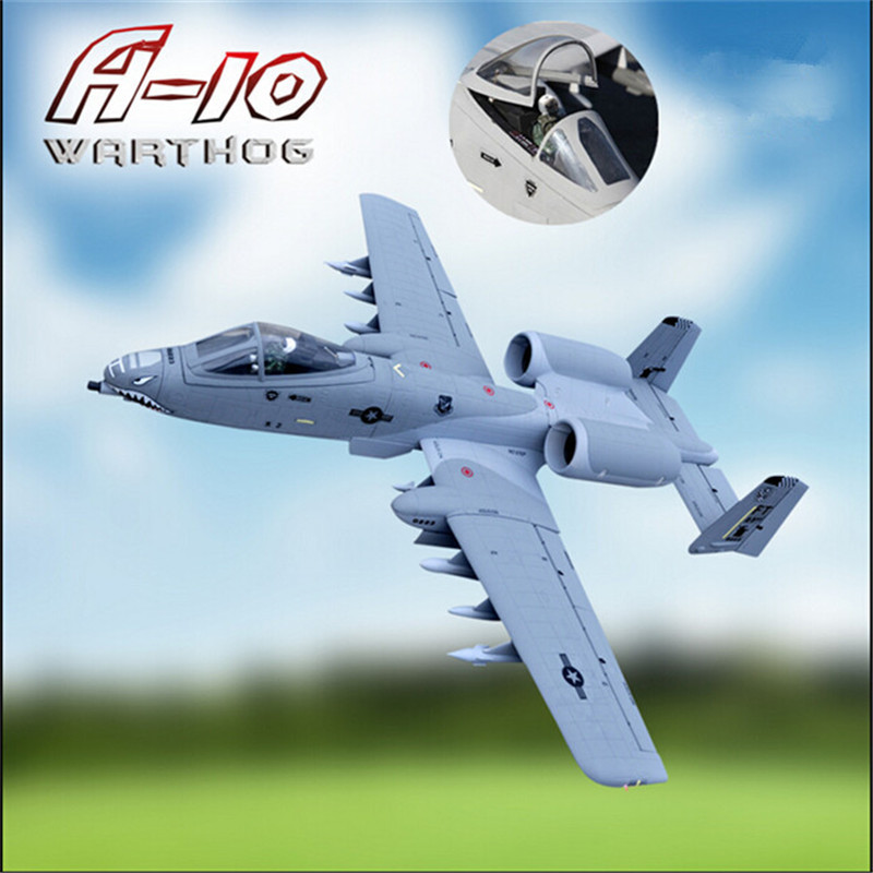 12CH 70mm edf rc model airplane A-10 rc plane epo foam aviones rc aeromodelismo rc plane rtf remote control airplanes(China (Mainland))