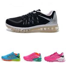 Free Shipping 2015 Flyknit Maxes men and women running shoes jogging outdoors walking us5.5-12 hot sale