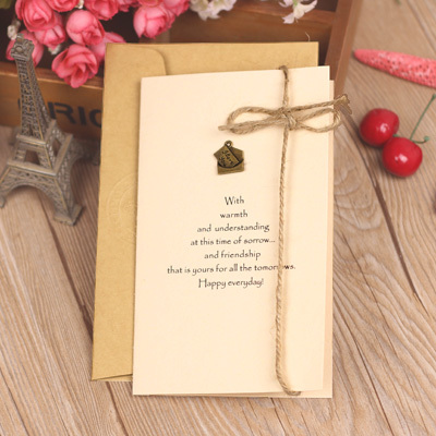 Greeting card for za kka vintage diy card birthday handmade three-dimensional christmas greeting card<br><br>Aliexpress
