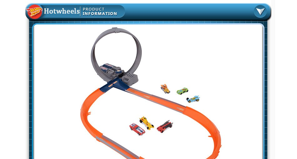 Authorized Sales Hot Wheels X2586 Roundabout Track Toy