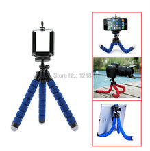 Digital Camera Phone Holder Flexible Octopus Leg Tripod Bracket Selfie Stand Adapter Mount Monopod Bubble For Iphone Mobile