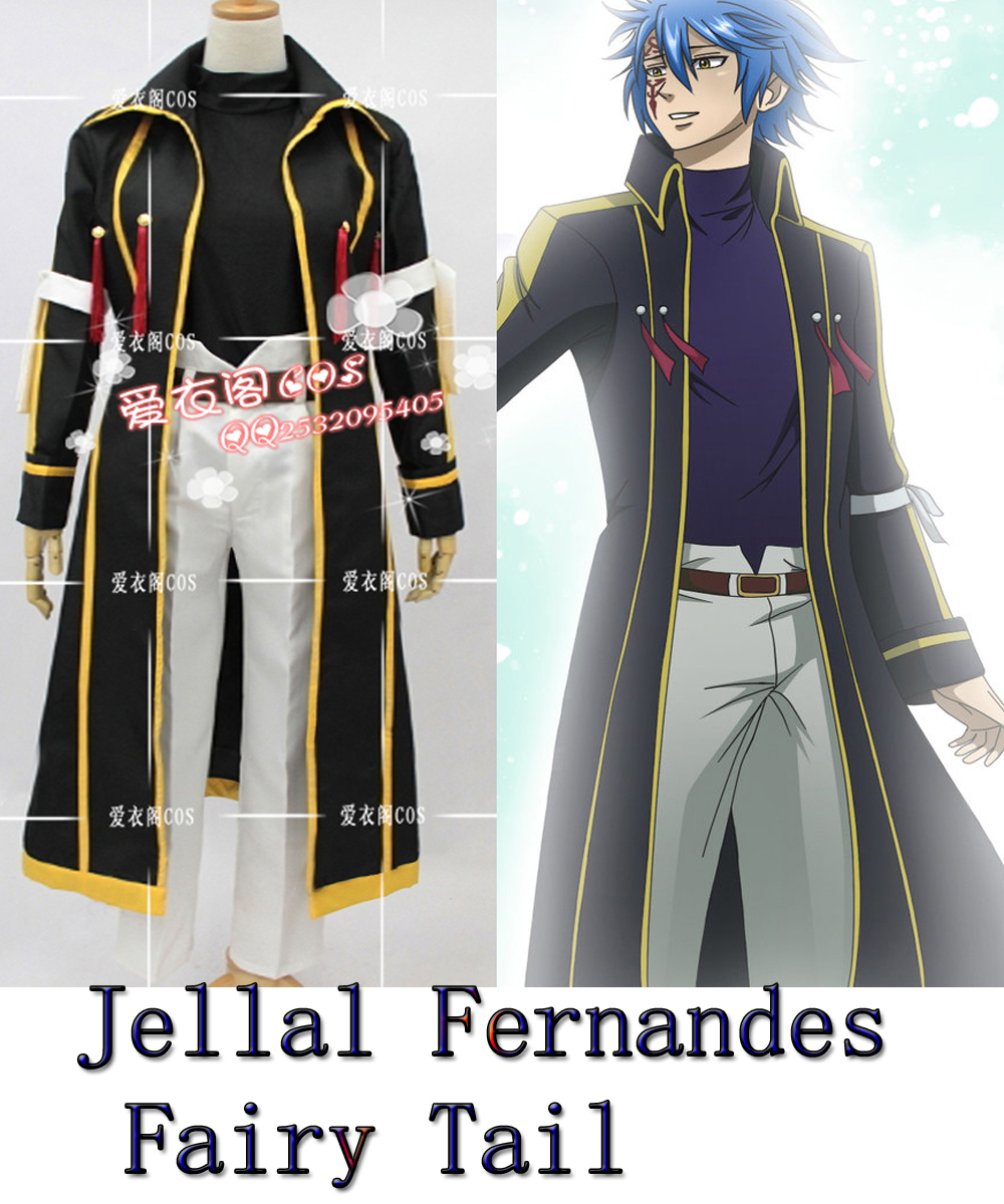 Movie Coser-5 High Quality Custom Made Jellal Fernandes In Fairy Tail Cosplay Costume Одежда и ак�е��уары<br><br><br>Aliexpress