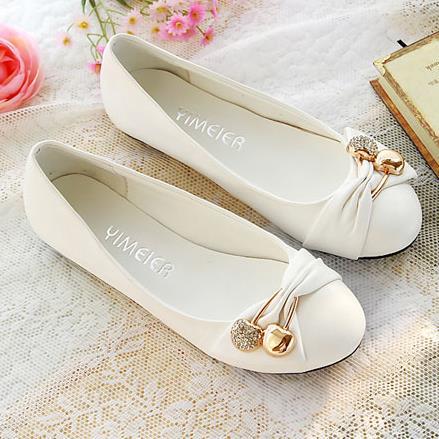 Free shipping women's fashion shoes flat shoes large size 34-47 (EUR) female ballet shoes women flats(China (Mainland))