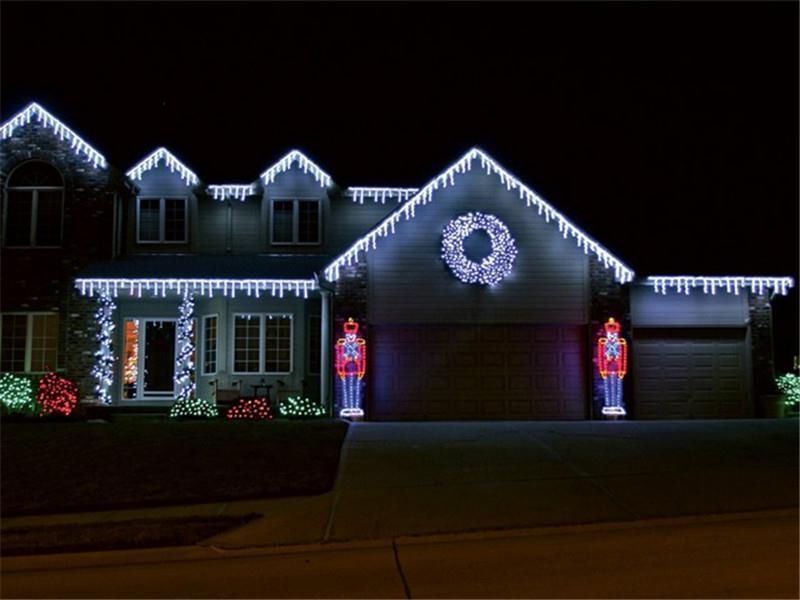 20pcs ac110v icicle lights white 96leds 4m colorful us. Black Bedroom Furniture Sets. Home Design Ideas