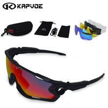 Fasten Schiff 5 Para Objektiv Marke JBR Polarisierte Sport Sonnenbrille UV 400 Sonnenbrille Radfahren Fahrradbrille Tour De France Brillen()