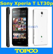 Original Sony Xperia T LT30P unlocked mobile phone Sony LT30p 16GB Dual-core 3G GSM WIFI GPS 4.55'' 13MP Smartphone dropshipping(China (Mainland))