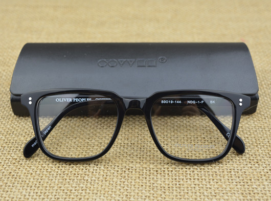2015 Famous Brand Oliver Peoples NDG-1-P Square Vintage Myopia Glasses Frame Men and Women Retro Plate Eyeglasses Eye glasses(China (Mainland))
