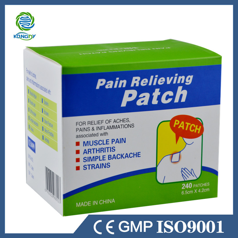 Health Care Pain Killer 240 Pcs/Lot Menthol Pain Relief Patch Medical Back/Neck/Shoulder Pain Plaster for Body Massager Relax(China (Mainland))