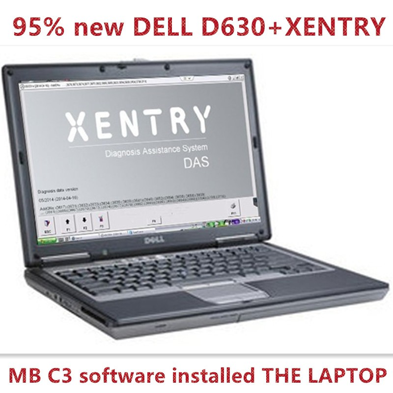 2015 TOP-RATED NEWEST MB STAR C3 SOFTWARE HDD WITH D630 LAPTOP WITHOUT MB STAR C3 DHL FREE SHIPPING
