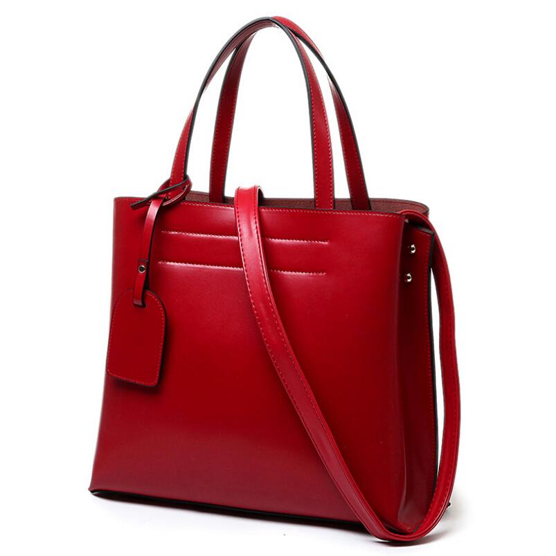 bucket bag genuine leather euramerican fashion cowhide women messenger bags famous designer brand bags women leather handbags(China (Mainland))