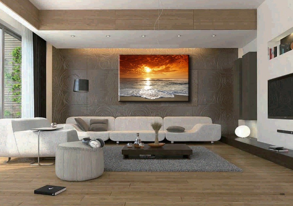 Hd y7025painting canvas wall art picture print for home for Living room 12x18