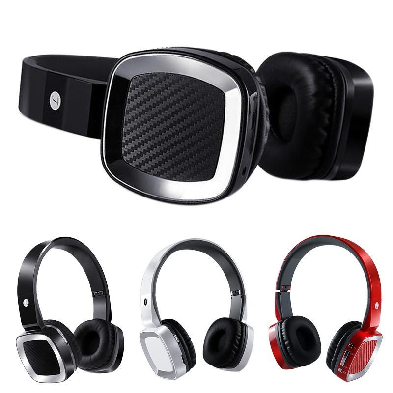 Popular 3 Color Foldable Wireless Bluetooth HiFi Stereo Headset Headband Headphones w/Mic(China (Mainland))
