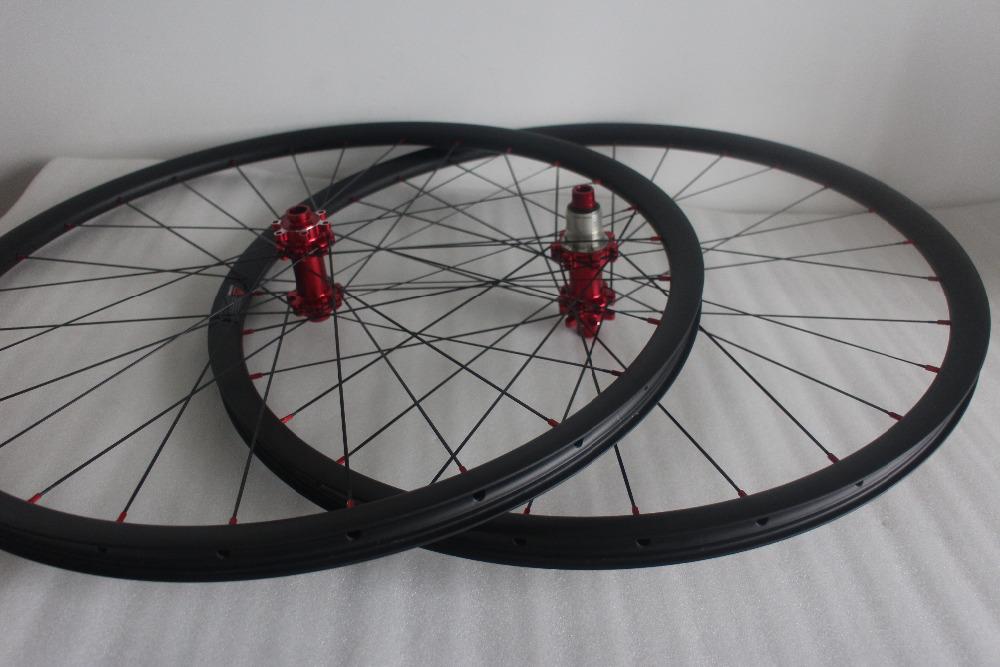 1435g ultra light 29er MTB XC straight pull carbon wheels 30mm hookless 28/28 Powerway M32 hubs aero spoke CrossCountry wheelset(China (Mainland))