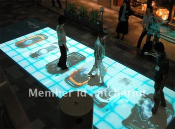 Best quality interactive projection floor system software for interactive advertising, projection show