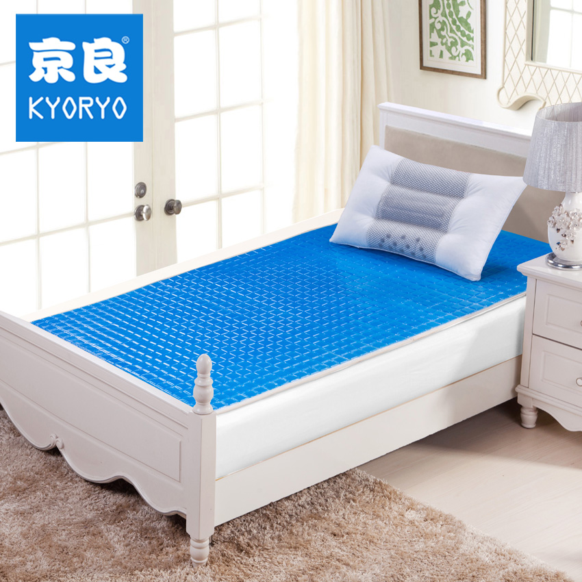 KYORYO Summer cool and refreshing skin mattress gel liangdian thermostated memory cotton latex Summer Winter 2 In 1 mat(China (Mainland))
