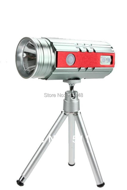 Free Shipping Portable Blue 5W Fishing Light,Floor Lamp with Tripod,Bait  Lamp